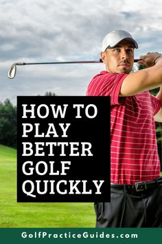 Here is a golf strategy to help you think about the game smarter and play better golf. Try these golf tips out in today's article by GolfPracticeGuides.com #golf #golftips #golfing