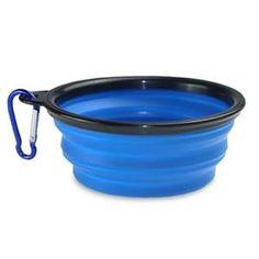 Portable Foldable Silicone Pet Feeding Bowl for Travel Dog Feeding Bowls, Collapsible Dog Bowl, Grand Bol, Dog Water Bowls, Dog Feeder, Pet Travel, Pet Bowls, Drinking Water, Free Food