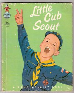 vintage cub scout illustrations - Google Search