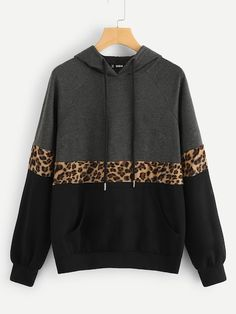 Shop Cut And Sew Raglan Sleeve Pocket Hoodie online. SHEIN offers Cut And Sew Raglan Sleeve Pocket Hoodie & more to fit your fashionable needs. Types Of Sleeves, Street Style Women, Fashion News, Ideias Fashion, Hoodies, Cut Sweatshirts, Autumn Fashion, Casual Outfits, Menswear