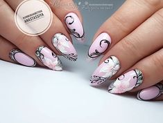 Expand fashion to your nails by using nail art designs. Used by fashionable celebrities, these types of nail designs will incorporate immediate charm to your wardrobe. Nail Art Hacks, Nail Art Diy, Diy Nails, Cute Nails, Pretty Nails, Best Nail Art Designs, Toe Nail Designs, Beautiful Nail Designs, Beautiful Nail Art