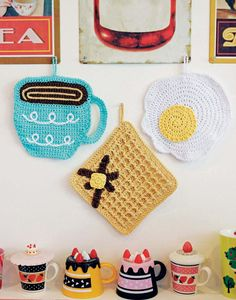 Breakfast Dishcloths - Crocheted Abode A La Mode, Book Review