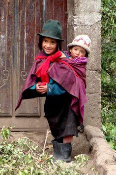 watching-a-little-sister-riobamba-ecuador  Ecuador