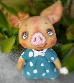 #piggy #handmade #свинкапеппа #свинка#ручнаяработа #хэндмэйд #хендмейд #belarus #minsk#брест #brest#romantic #babyanimals#платьевгорошек