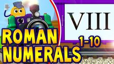 Counting Roman Numerals 1-10 | PicTrain™