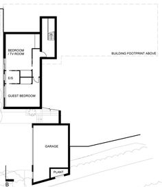 Image 1 of 18 from gallery of White Lodge / DyerGrimes Architects. Courtesy of DyerGrimes Architects Garage, Ground Floor Plan, Tv, Cladding, Lodges, Country Living, My Dream Home, House Plans, Floor Plans