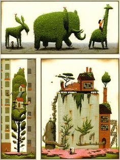 "Peter Brown - ""The Curious Garden."""