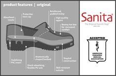 Sanita Womens Professional Lindsey Clogs /& Cleaning Rag Bundle