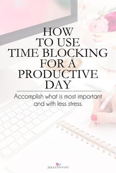 Value your time and be conscious of how you use it. Feel like you're juggling too many things and you have no idea what to tackle and when, you're not alone. Do you want to feel extremely productive at the end of the day? Do you want to be productive and not just busy? Check out how I use time blocking to plan a productive day. Pin it now, read it later.