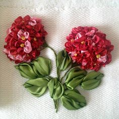 Silk Ribbon Embroidery