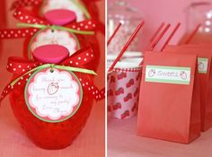 more strawberry party ideas