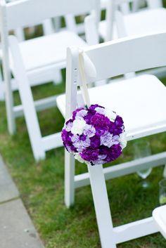 Purple pomander via www.eleganceandsimplicity.com