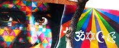 Barbara  Visca foto #Kobra #peace #streetart #prenestina #Roma #MAAM #Visca #photo