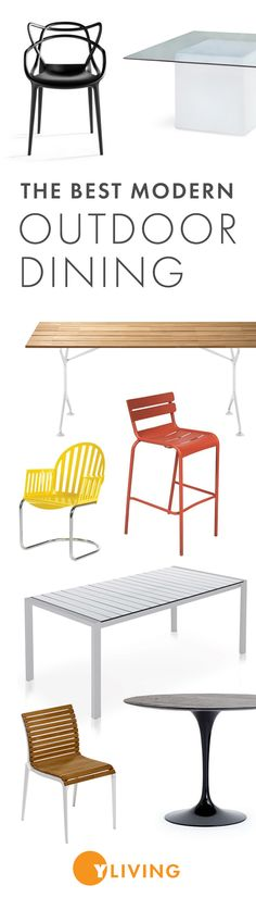 Shop the best in modern Outdoor Dining Furniture at YLiving.com. Save on thousands of top designs today!