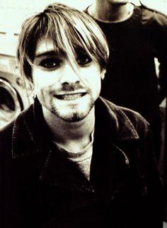 Pictures of Kurt Cobain Looking Happy