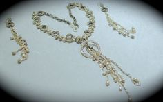 Beautiful Handmade Silver Based Metal Jewelry by SynasCollection, $45.00