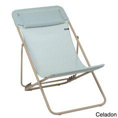 Lafuma Maxi Transat Plus Sand Frame Folding Sling Chair