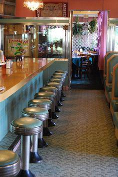 Robin Hood Diner, Livingston Manor; Catskills