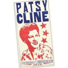 Patsy Cline poster from Hatch Show Print