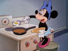 My Disney Kitchen Cooking Food For Mickey Minnie