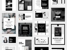 Social Media Pack - Kelsey - The 'Kelsey' style continues with this new Social Media Pack for Instagram, Pinterest, Facebook & Twitter. With 96 Files and 32 unique layouts, there is loads of choice for any business or promotion. #socialmedia #socialmediamarketing