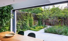 Small Urban Garden Design, Small Garden Layout, Small Space Gardening, Specimen Trees, London Garden, Balcony Design, Tropical Garden, Outdoor Gardens, Courtyard Gardens