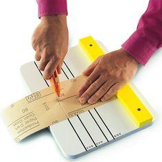 make custom sizes of sandpaper with a jibhttps://www.familyhandyman.com/woodworking/41-genius-sanding-tips/7/