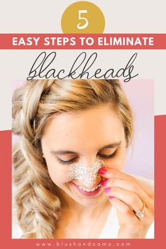 Hello Gorgeous! We all love to maintain healthy, radiant skin, but sometimes our skin doesn't cooperate! That's not a problem! Let's talk about my 5 simple steps to get rid of those dreaded blackheads! Just follow my step-by-step tutorial and you too will love your skin again! Let's get glam! #radiantskin #skincare #blackheadremover #glowingskin #skincaretips