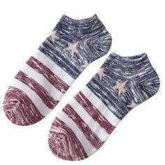 Men's Ankle Low Cut Classic Cotton Socks 1pair
