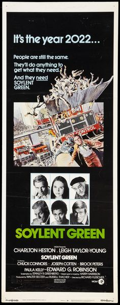 Soylent Green. I remember watching this at my grandparents house when I was little.