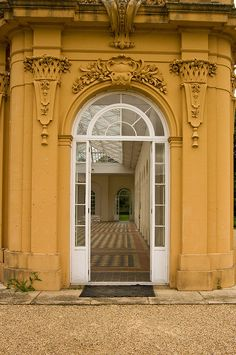 ornate doorway