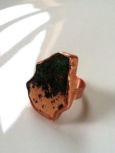 Michigan Native Copper Ring