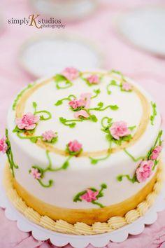 Tea Party Smash Cake