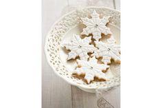 snowflake cookies!