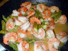 Garlic Shrimp With Asparagus Recipe - Food.com
