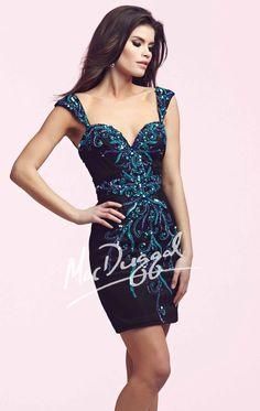 Embellished Sweetheart Dress by Mac Duggal 82113N by Mac Duggal Homecoming