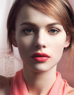 Spring Fever- Beauty by Yoshihito Sasaguchi for Vogue Japan February 2013