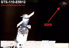 Shuttle Atlantis Photo With UFO Near It and ISS In NASA Archives, Sept 2013-- While the shuttle atlantis was flying in a circle around the space station to take video and get a full view of the station, a UFO was accidentally captured by the Shuttle Atlantis camera. This UFO is everything we have heard about...disk shaped, metallic and of course the traditional bulge int the lower middle. NASA http://spaceflight.nasa.gov/gallery/images/station/assembly/html/s110e5918.html #ALIENS #UFO #ET…