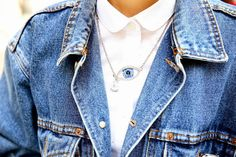 eye necklace #Fashiolista #Inspiration