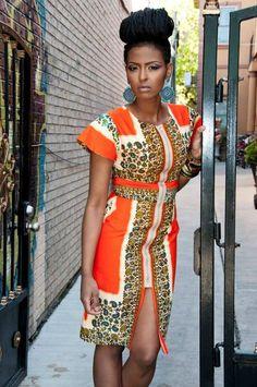 Африканская Неделя моды в Нью-Йорке: