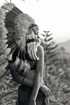 via SHEEP IN WOLVES CLOTHING | cherokee | wannabe | american indian | feathers | nature | pines | natural | beauty Red Indian, Native Indian, Indian Face, Native American Beauty, Native American Indians, American Spirit, Sheep In Wolves Clothing, Foto Fantasy, Indian Feathers