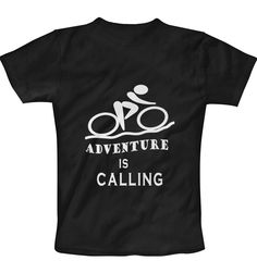 Adventure Black T-Shirt