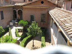 Roman gardens of Basilica S. Maria degli Angeli and Diocletian's Baths