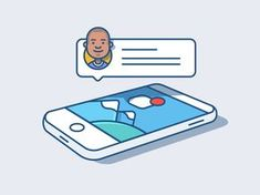 >>>Cheap Sale OFF! >>>Visit>> Notifications - Illustration Animation by Andrew McKay - Dribbble Anim Gif, Animated Gif, Family Illustration, Flat Illustration, Web Design, Icon Design, Flat Design, Graphic Design, Kinetic Type