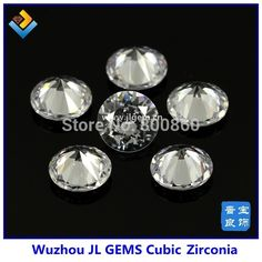 100pcs/lot AAA grade 11mm 12mm 13mm 14mm 15mm free shipping wholesale White machinre round cut Cubic Zirconia cz gems-in Beads from Jewelry on Aliexpress.com   Alibaba Group Led Chandelier, Alibaba Group, Gems, Free Shipping, Jewelry, Jewlery, Jewerly, Rhinestones, Schmuck