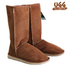 Classic Tall Ugg Boots - Chestnut.  100% Austrlaian Sheep Skin Boots. Genuine Australian Made Uggs.