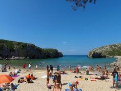 Playa Cuevas del Mar, Playas de Asturias