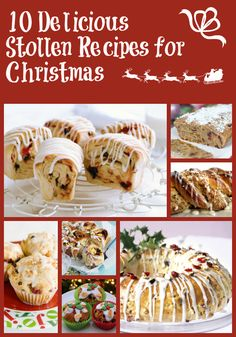 10 Delicious Stollen Recipes for Christmas - Mummy Alarm - I'll likely make this with only dates and raisins, since I'm not fan of the other dried fruits. Christmas Stollen Recipe, Christmas Bread, Christmas Breakfast, Christmas Cooking, Christmas Desserts, Christmas Christmas, Christmas Foods, Bakery Recipes, Cooking Recipes