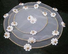 Fun Crafts, Diy And Crafts, Diya Decoration Ideas, Indian Wedding Gifts, Crochet Cup Cozy, Rangoli Designs Diwali, Crochet Diagram, Embroidery Jewelry, Button Crafts