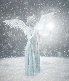 SNOW ANGEL by NebelelfeNaemy on deviantART